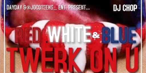 Red, White & Blue Twerk On You Foam Party