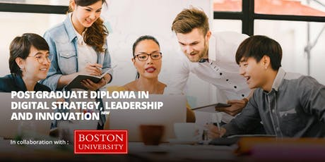 Preview of Postgraduate Diploma in Digital Strategy, Leadership and Innovat tickets