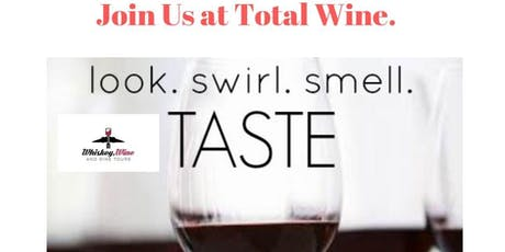 Join us at Total Wine for Food, Wine and Travel Talk!  tickets