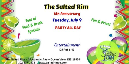 The Salted Rim's 6th Anniversary
