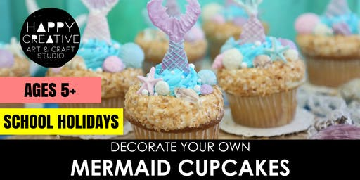 Mermaid Cupcakes (Ages 5+)