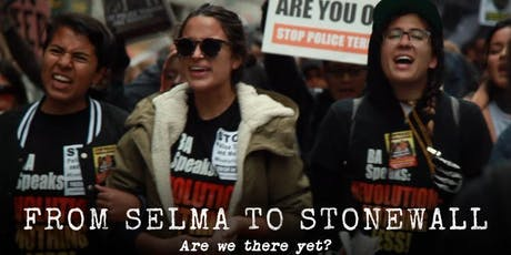 """From Selma to Stonewall"" screening tickets"
