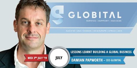 From Bankrupt to Global Business - Damian Papworth tickets