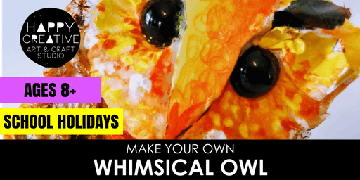 Whimsical Owl (Ages 8+)