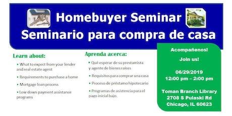 Homebuyer Seminar (Little Village) 06/29/19 tickets