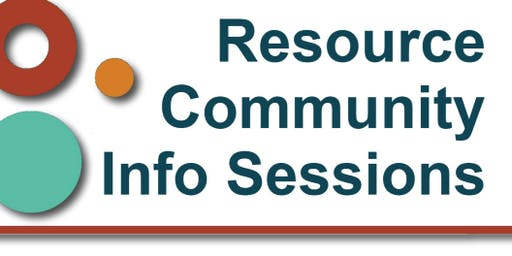 Resource Community Info Session | Richmond