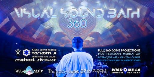 VISUAL SOUND BATH 360 at WISDOME by Visual Reality
