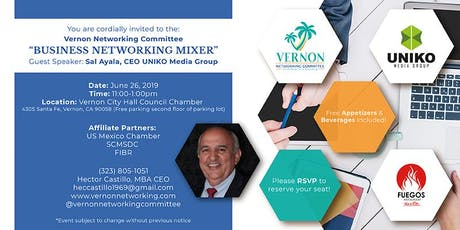 Vernon Networking Committee, Inc. Business Networking Mixer tickets