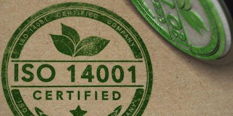 Taller Formación de Auditor Interno ISO 14001:2015 boletos