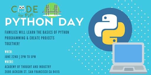 Python Day - SF