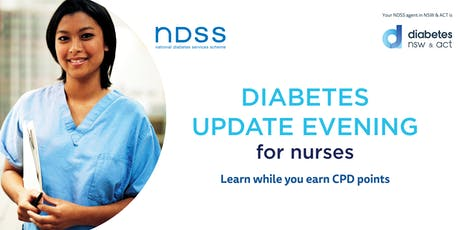 Diabetes Update Evening for Nurses - Woden tickets