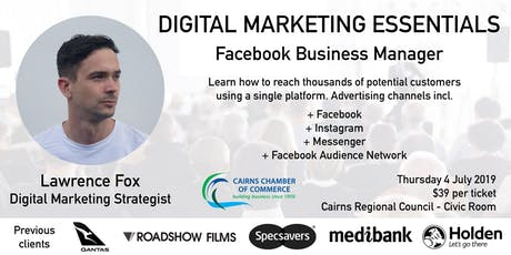 Digital Marketing Essentials - Facebook Business Manager tickets