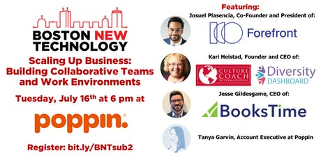 Scaling Up Business: Building Collaborative Teams and Work Environments #SUB2 tickets