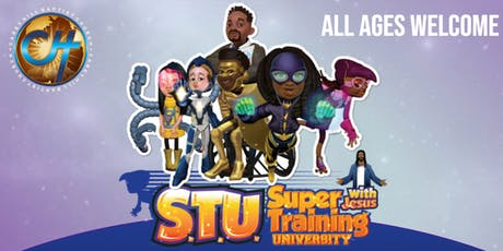CHBC VBS 2019: Super Training University with Jesus tickets