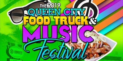 """CHARLOTTE CITY FEST AT THE SPEED WAY """"2019 QUEEN CITY FOOD TRUCK FESTIVAL""""- FOOD-FUN-FAMILY"""