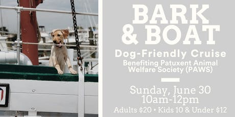 Bark & Boat Dog-Friendly Cruise tickets