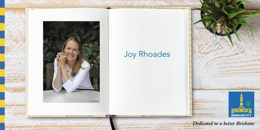 Meet Joy Rhoades - Wynnum Library