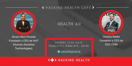 Hacking Health Café - Health 4.0 boletos
