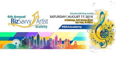 Biz Savvy Artist™ Academy 2019 tickets