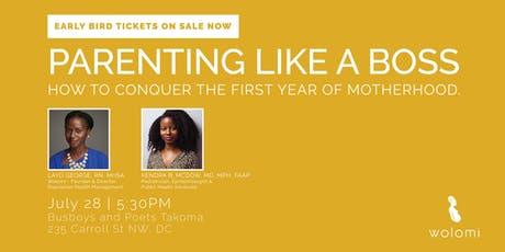 PARENTING LIKE A BOSS tickets