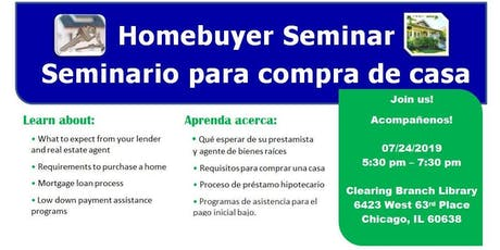 Homebuyer Seminar (Clearing) tickets