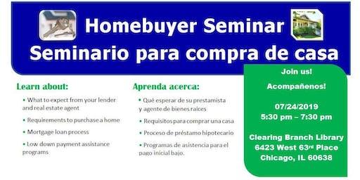 Homebuyer Seminar (Clearing)