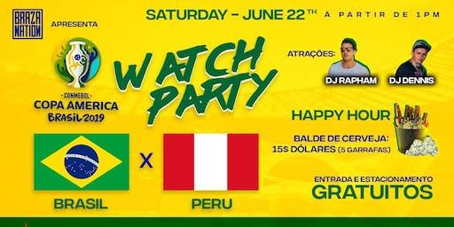 Copa America -Brasil x Peru