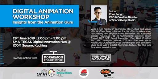 Workshop: Digital Animation Insights From The Animation Guru