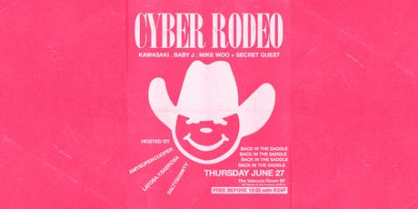 CYBER RODEO presented by @RUN.WAV tickets