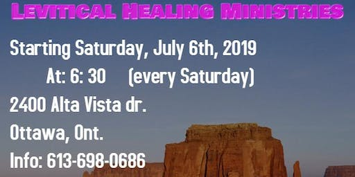 LEVITICAL HEALING MINISTRIES
