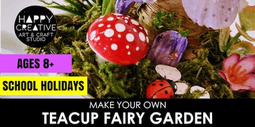 Teacup Fairy Garden (Ages 8+)