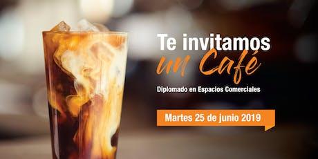 Café Informativo - Diplomado en Espacios Comerciales boletos