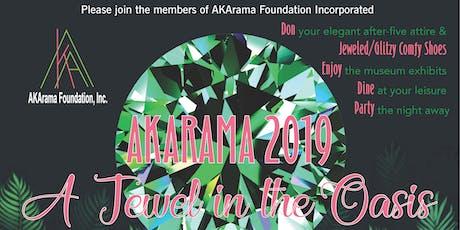 AKArama 2019 - A Jewel in the Oasis tickets