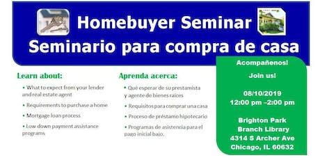 Homebuyer Seminar (Brighton Park) tickets