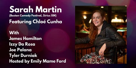Playoff's Comedy Presents: Sarah Martin with Chloe Cunha! tickets