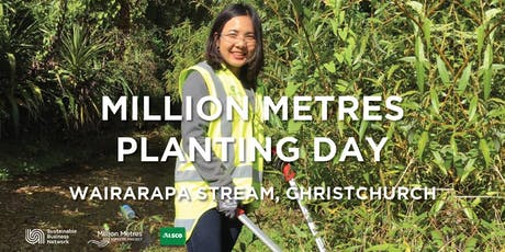 Million Metres Planting Day - Christchurch tickets