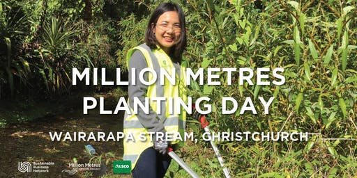 Million Metres Planting Day - Christchurch