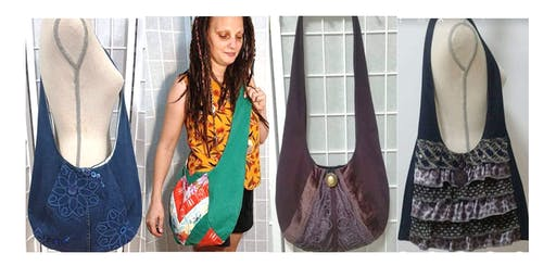 Upcycled Boho Bag - Sewing Workshop 1/2