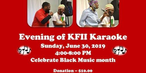 Evening of KFII Karaoke