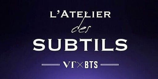 VT x BTS L'Atelier des Subtils Perfume Restock