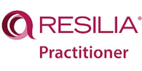 RESILIA Practitioner 2 Days Training in Edmonton tickets