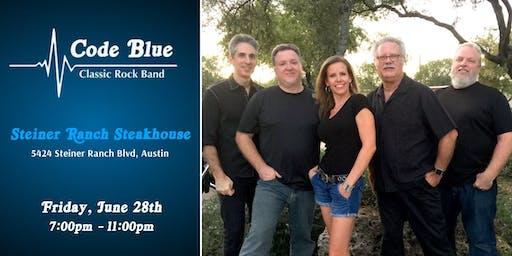 Code Blue Live at Steiner Ranch Steakhouse