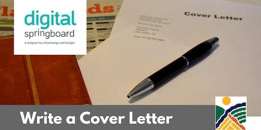 Write a Cover Letter @ Kapunda Library (Jul 2019)