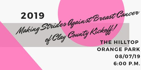 Making Strides Against Breast Cancer of Clay County Kickoff tickets