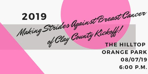 Making Strides Against Breast Cancer of Clay County Kickoff