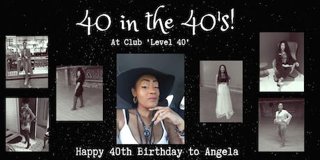 40 in the 40's tickets