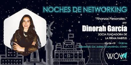Wow Noches de Networking entradas