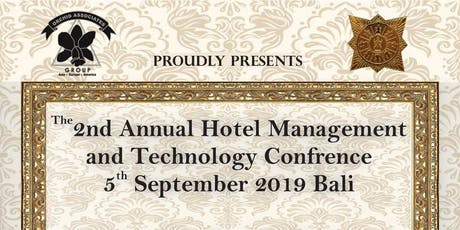2nd Annual Hospitality Management and Technology Conference tickets