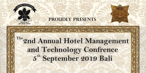 2nd Annual Hospitality Management and Technology Conference