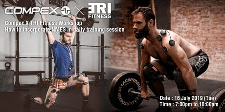 Compex X TRI Fitness workshop tickets